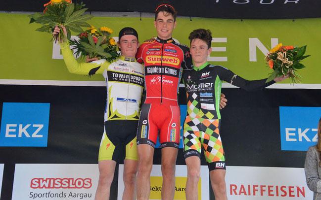 Johan Jacobs gewann das Rennen der Kategorie U19/Amateure/Master © Elisa Haumesser