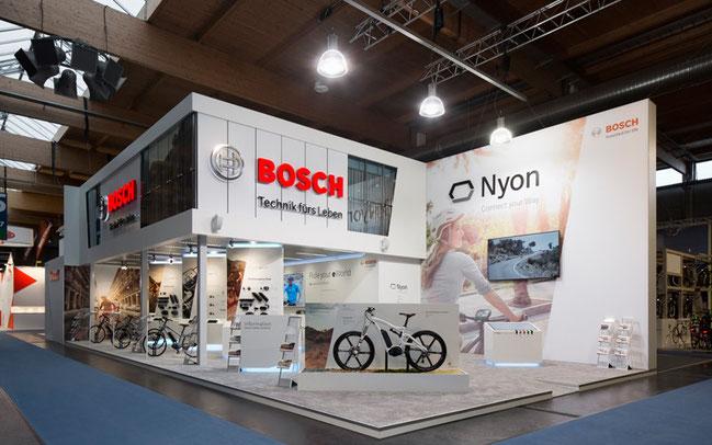 Bosch eBike Systems präsentiert sich auf der f.re.e ©Bosch eBike Systems