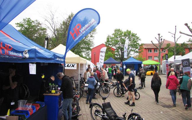 Spezialradmesse in Germersheim 2015 ©Velototal GmbH