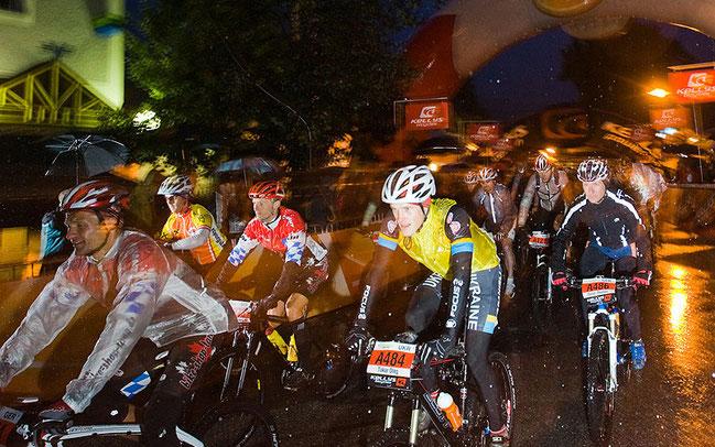 Start auf die Extremstrecke bei der Salzkammergut Trophy © Erwin Haiden
