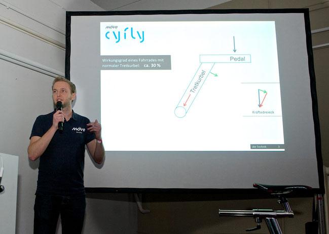 Cyfly macht dem E-Bike richtig Konkurrenz: 50% mehr Leistung aus Muskelkraft, 0% Strom aus der Steckdose.