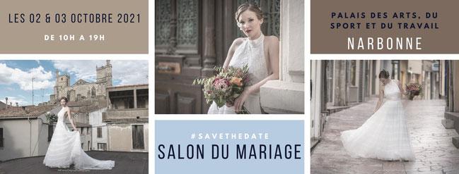 Salon du Mariage de Narbonne 2 et 3 Octobre 2021