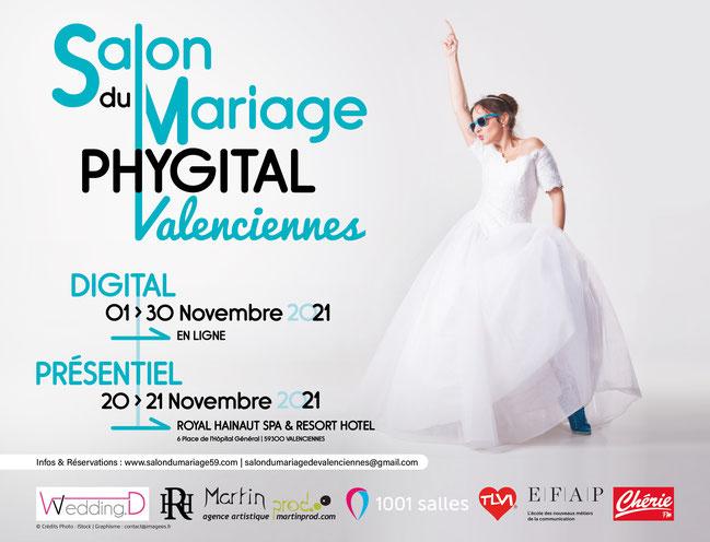 Salon du Mariage de Valenciennes 16 et 17 Octobre 2021