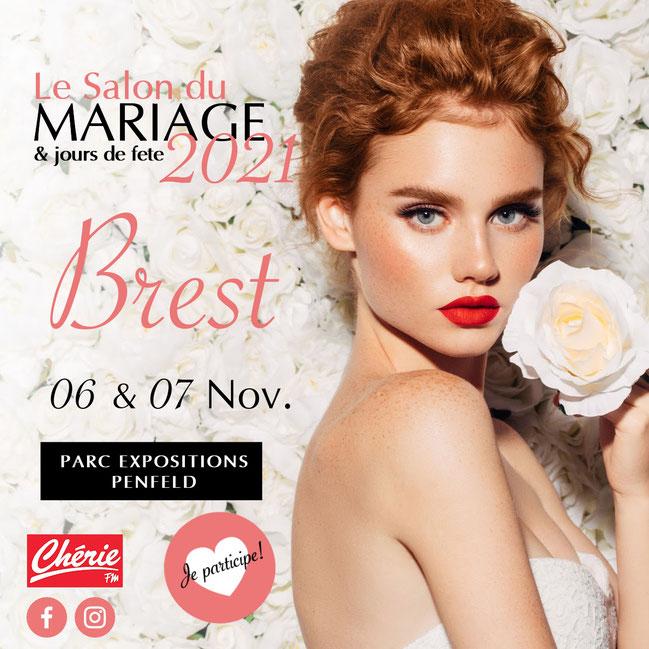 Salon du Mariage & jours de fête à Brest 21 et 22 Novembre 2020