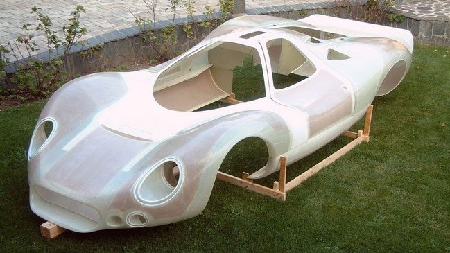 honeycomb reinforced car body