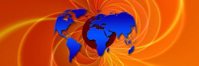 carte du monde pour article sur les Sitemap écrit par e-cime.fr création de site web TPE