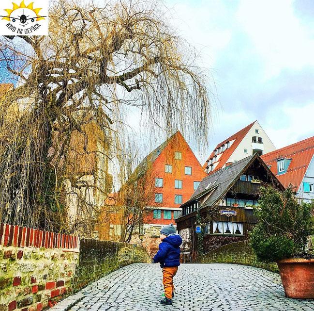 Auch das ist Ulm - eine wunderschöne Altstadt.