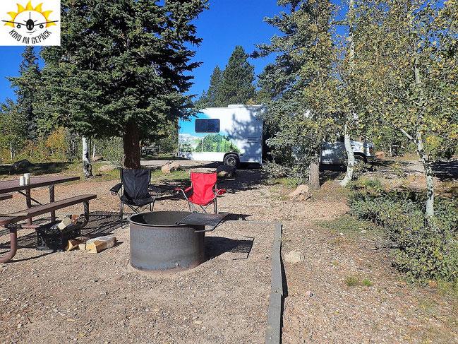 De Motte: Campingplatz vor den Toren des Grand Canyon North Rim Nationalparks