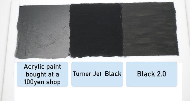 Black 2.0 comparison