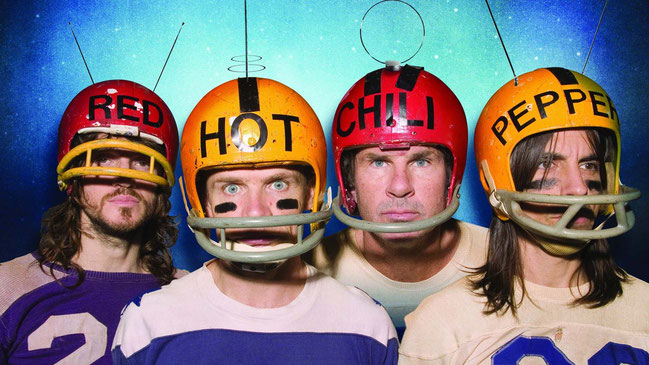 Red Hot Chili Peppers y el diseño de sus discos