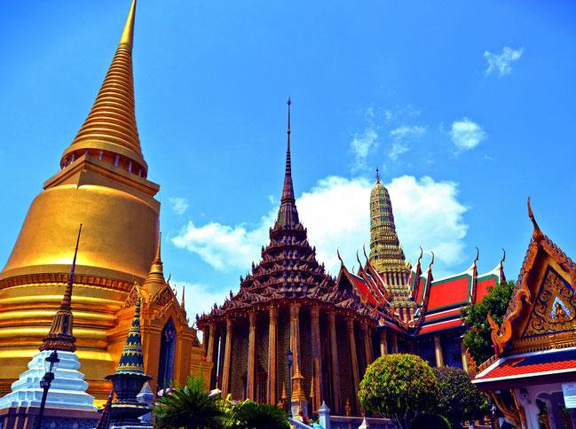 Grand Palace Königspalast Bangkok Thailand