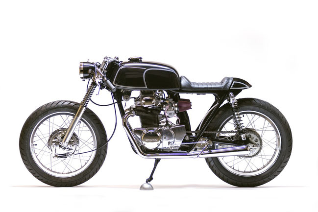 Custom Honda CB350 by Kott Motorcycles