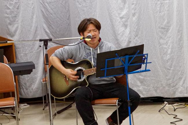 アコースティックライヴ@Kitamoto#12 ロッキー森