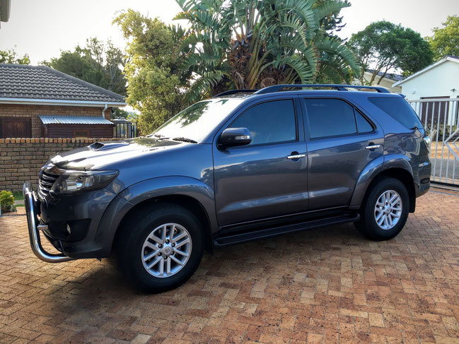 Mietauto Toyota Fortuna - Südafrika HausKleinberger.at