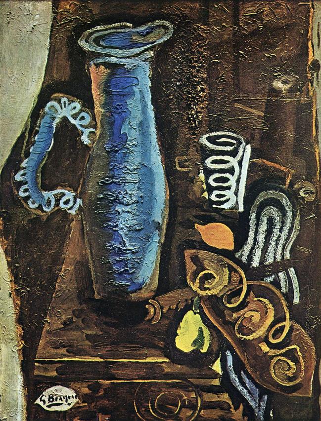 《青い水差し》1946年