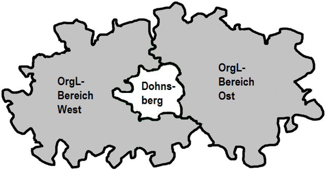 ORGL-Bereiche im Landkreis Dohnsberger Land