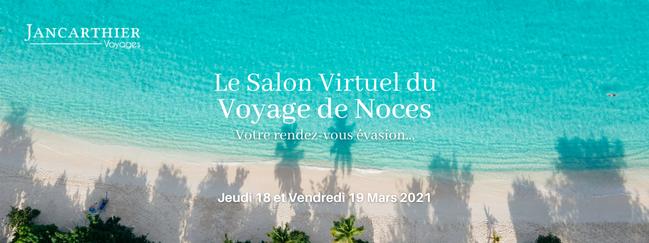 Jancarthier : Salon virtuel du voyage de Noces
