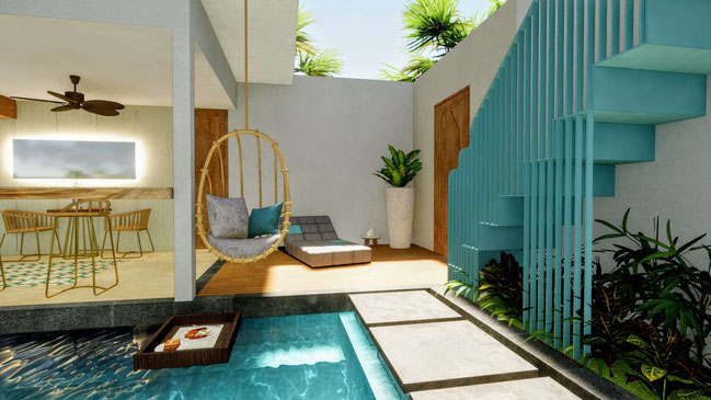 Batu Belig investment 1 bedroom villas for sale