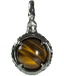 A treasure ball that prays at the sacred place Utaki in Okinawa Tiger's Eye Power stone Pendant Necklace