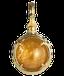 沖縄の御嶽で祈りをこめる龍の宝珠 ぬぶし玉 シトリンのパワーストーン ペンダント・ネックレス