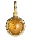 A treasure ball that prays at the sacred place Utaki in Okinawa  Citrine Power stone Pendant Necklace