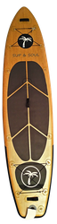 Allround Board Holzdesign Windsurf SUP
