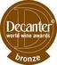 Premium Fetească Neagră 2012: Bronzemedaille, Decanter 2014