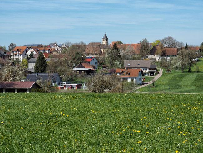 Blick auf Beffendorf