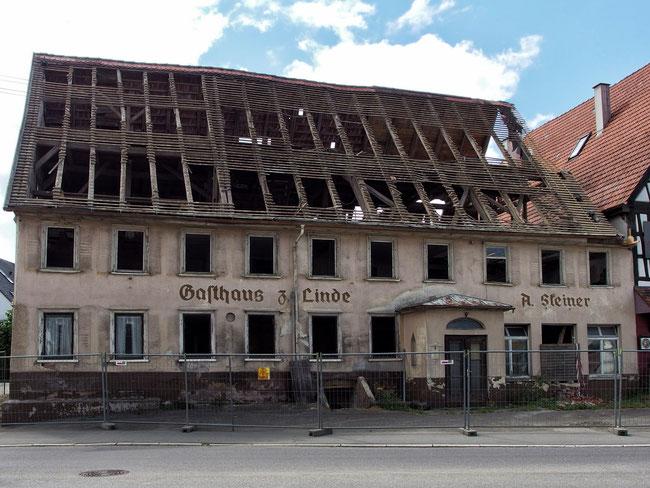 Hier das Gebäude im Jahr 2013