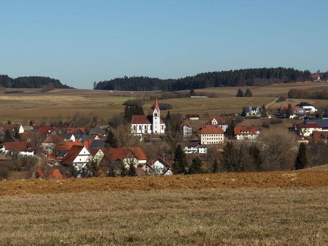 Blick auf Lackendorf
