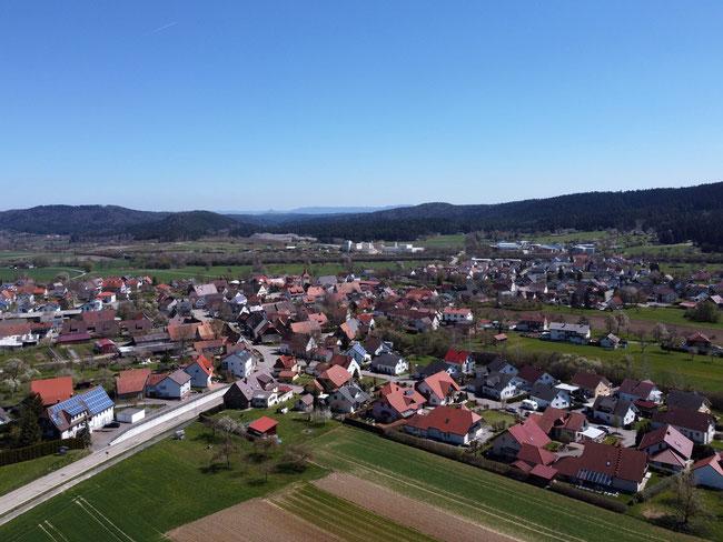 Blick auf Wittershausen
