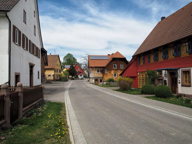 Ortsdurchfahrt Gundelshausen