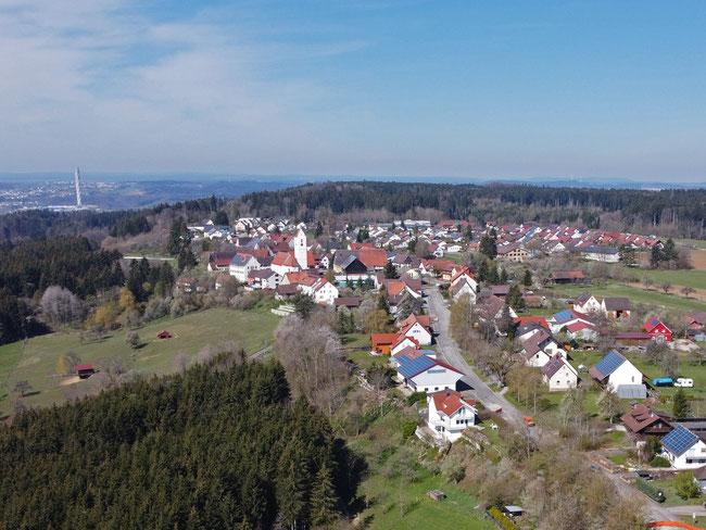 Blick auf Neukirch