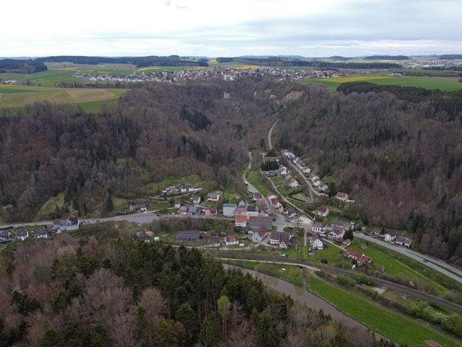 Blick auf Talhausen