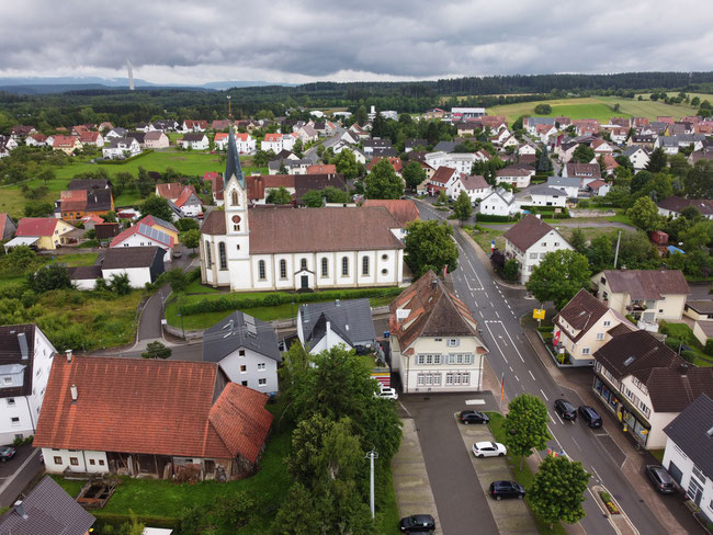 Blick auf Villingendorf