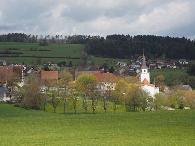 Blick auf Flözlingen