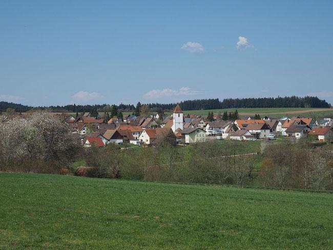 Blick auf Rötenberg