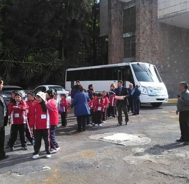 Transporte escolar en Benito Juarez, Ciudad de México