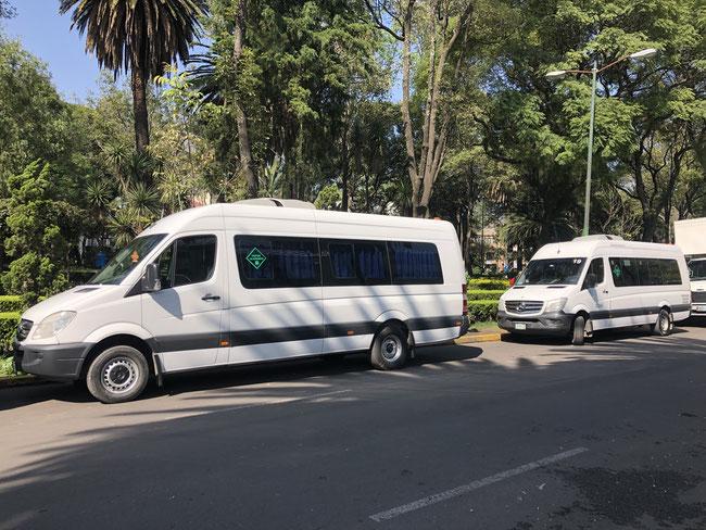 Renta de transporte escolar, renta de transporte de personal, renta de transporte de turismo, transporte económico, transporte en Ciudad de México