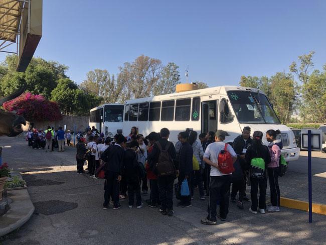 Transporte escolar en cuauhtemoc, ciudad de México