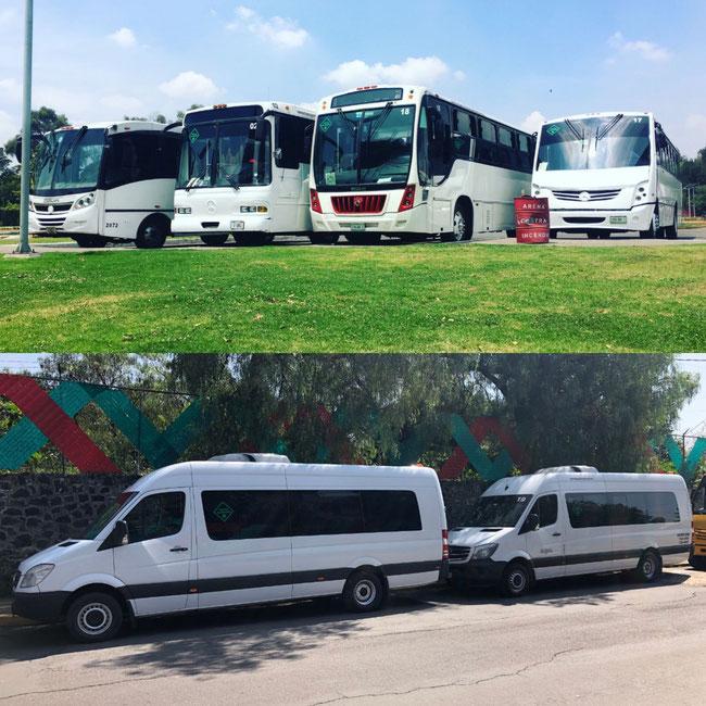 Empresa de transporte de personal en camiones y camionetas en Ciudad de México