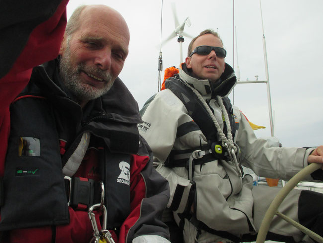 Ab nach Borkum - weise Entscheidung von  zwei der drei Helden der See!