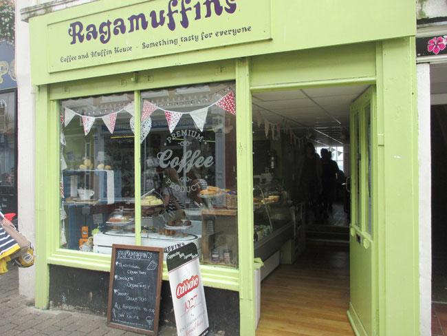 Bäckerei-Café in Falmouth: Spürst du die magische Anziehung?!