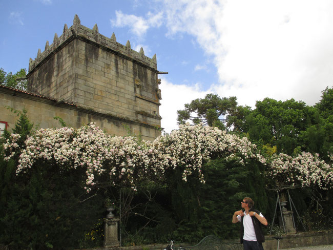 Alt aber hübsch: Gouverneur's Palast in Vilagarcia