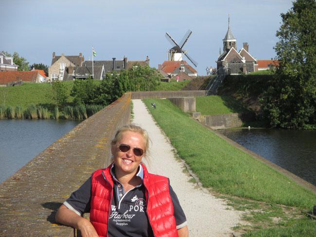 Abendbelohnung: Bummeln durch Willemstad