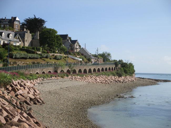 Fast wie in Italien: Bucht von Perros Guerec