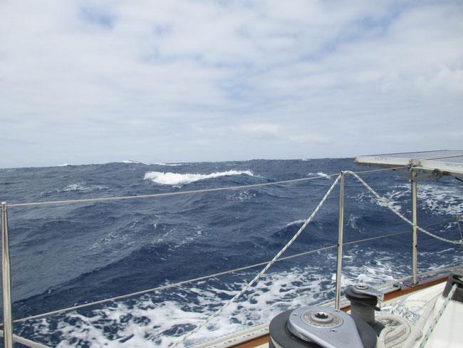 Große unartige Welle!
