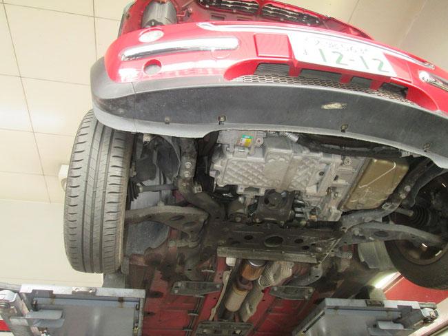 BMW ミニ エアコン修理