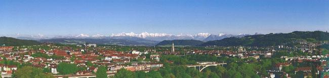 Panorama aus der Sicht unserer A1-Überbauung
