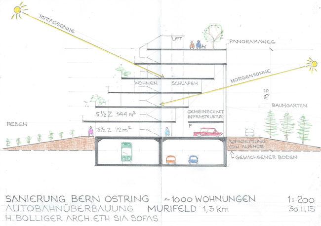 Teil 2: Wohnbrückenbau im Murifeld